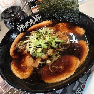 富山ブラック 肉盛り(らぁめん花月嵐)