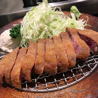 牛かつ麦飯セット(牛かつ もと村 コレド室町店 )