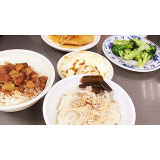 鶏肉飯(梁記嘉義雞肉飯)
