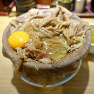 牛しゃぶすきめし スープ付(新橋 岡むら屋 )