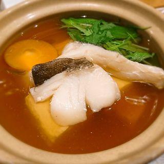 タラ入り湯豆腐(ナチュラルダイニング風)