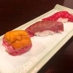 肉3種盛り(寿司&bar koleksi)