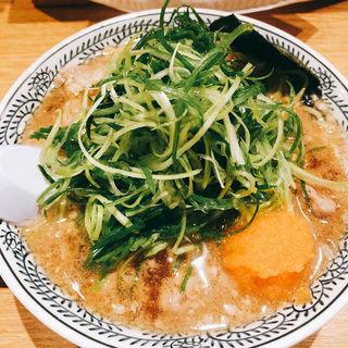 ねぎ肉そば(丸源ラーメン 都島店 )
