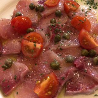 鮮魚のカルパッチョ(TRENTA)
