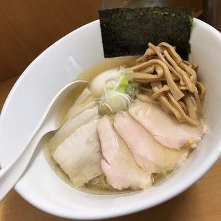 塩中華そば 特製トッピング(塩麺屋 錦太朗)