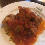 鳥肉ロースト トマトソース