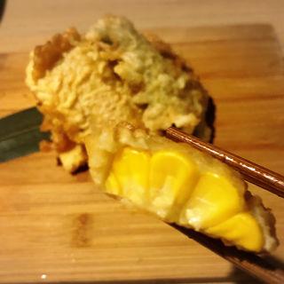とうもろこしの天ぷら(炭火焼鳥焼串 てっぺん )