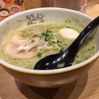 ラーメンジェノバ 玉子トッピング(ラーメン海鳴 名古屋駅麺通り店)