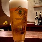 ビール ハートランド生(馬場頭 ふろ (ババガシラフロ))