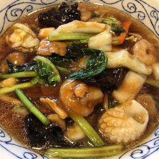 五目とろみ麺(雲龍 一包軒 錦糸町テルミナ店 (ウンリュウイッポウケン))