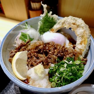 熟成但馬牛炙り肉ぶっかけうどん(うどんば しん)