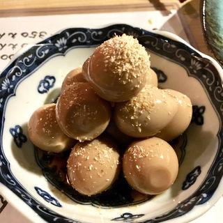 うずらのうま煮(炭火焼鳥焼串 てっぺん )