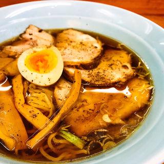 焼豚ラーメン(麺工房 天天)