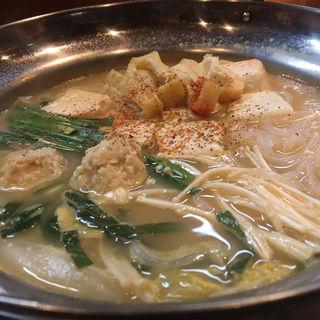 牛骨スープの団子鍋(1人前)(炭火串焼 松ちゃん )