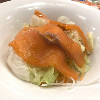 スモークサーモンのサラダ(デニーズ 神田小川町店 (Denny's))
