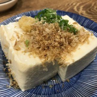 冷奴(餃子酒場 神田今川橋いち五郎)