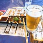 餃子ビールセット