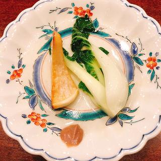 広東白菜の炒めもの(虎峰 (コホウ))
