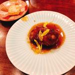 牡蠣のフリット 甘酢唐辛子ソース