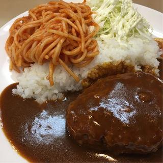 ハンバーグ丼(むさしや )