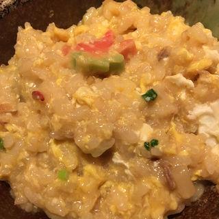 〆の雑炊(魚可津)