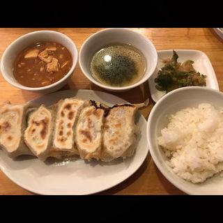 焼餃子定食