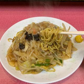 あんかけ焼そば(中華食堂 桂苑)