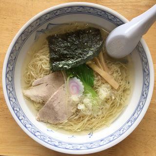 中華そば 塩(一しな (いちしな))