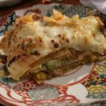 海老と野菜のラザニア