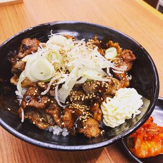 炭火焼肉丼 味噌コク旨ダレ(肉のヤマキ商店 お茶の水サンクレール店)