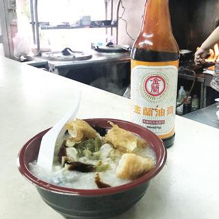 皮蛋粥ワンタン入り(小)(台湾風粥専門店 阿里 )