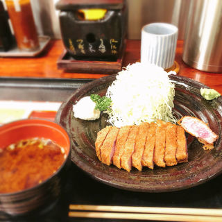 牛かつ定食(牛かつ 壱弐参 (ぎゅうかつ いちにさん))