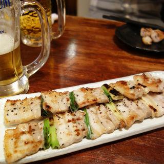 豚ばら(でかい焼鳥と大阪の串カツ ごっつ 本店 )