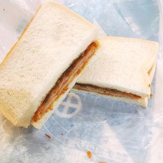 ハムカツサンドイッチ(チョウシ屋 (ちょうしや))