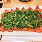 特選ネギたん 片面焼き(焼肉たまき )