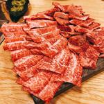 宮崎牛 ハラミ クリ カルビ(焼肉たまき )