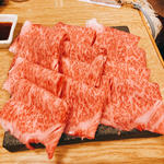 佐賀牛サーロイン焼きしゃぶ(焼肉たまき )