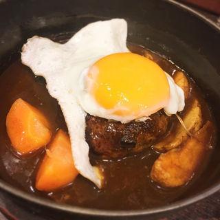 おおはし風煮込みハンバーグ定食(洋食亭 おおはし )