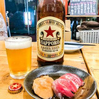 サッポロラガービール(大漁一家 本八幡店 )