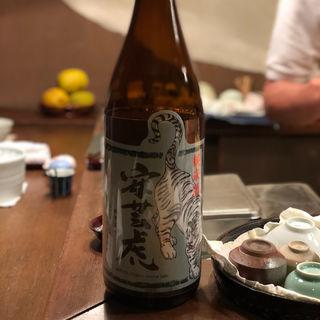 安芸虎 純米酒(馬場頭 ふろ (ババガシラフロ))