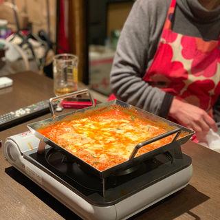 鍋(韓国家庭料理 新洞 (シンドン))