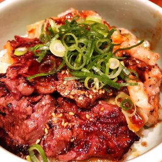 焼肉ホルモン丼(焼肉の松屋  新大阪店 )
