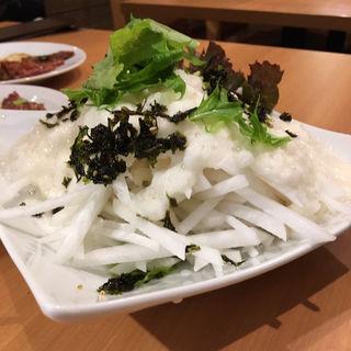 大根サラダ(焼肉食堂 はな牛)