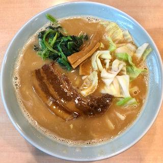 牛骨味噌味(らあめん工房 雪濃湯 )