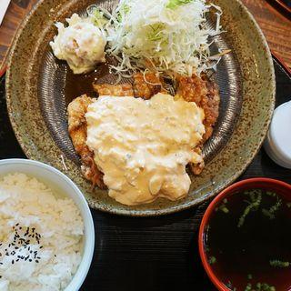 黒酢チキン南蛮定食(めんちゃんこ亭 大橋店 )