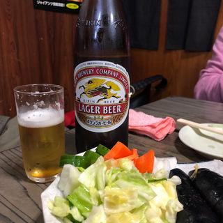 キリンビール(やきとり おばこ )