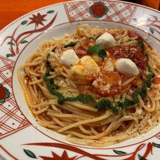Wモッツァレラチーズのトマトソース バジル風味(洋麺屋 五右衛門 ららぽーとTOKYO-BAY店 )