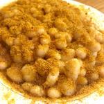 豆とカラスミ