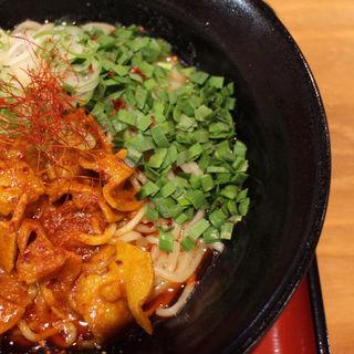 辛味噌ホルニラ麺(まぜそば専門店 麺や太郎)