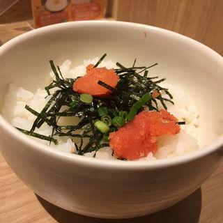辛子明太子ごはん(ラーメン海鳴 名古屋駅麺通り店)